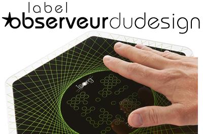 Label Observeur du Design Isorg
